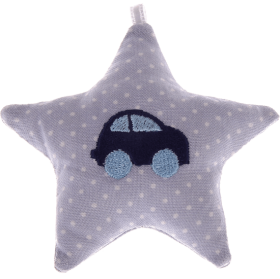 textile star grey car