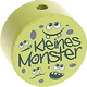 "Motivperle ""Kleines Monster"" : lemon"