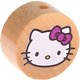 Motivperle Hello Kitty : natur
