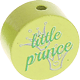 "Motivperle ""little prince"" (Englisch) : lemon"