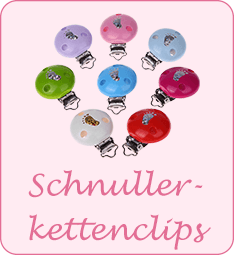 Schnullerkettenclips