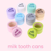 Milk Tooth Canister – Memories of a beautiful time