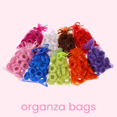 Organza Bags – decorative packages for personal gifts