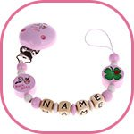 Roze speenketting