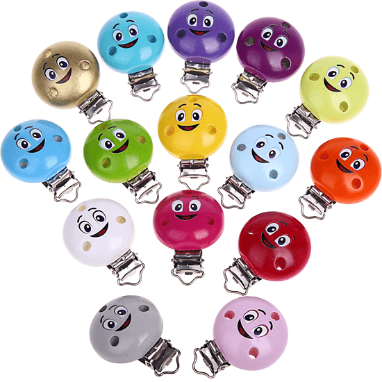 Motivclip Smiley