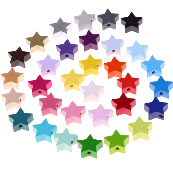 motif bead - mini star