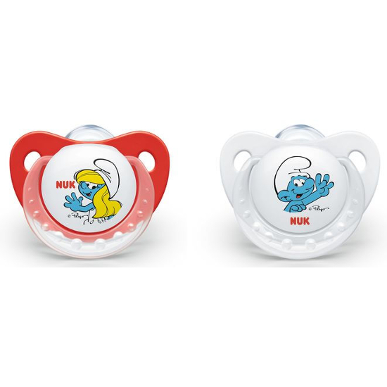 NUK Smurfs Trendline Silicone Soother