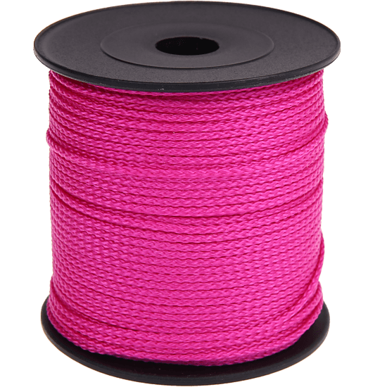 100m PP-Polyester 1,5mm dunkelpink