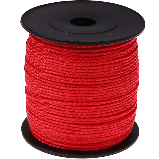 100m PP-Polyester 1,5mm rot