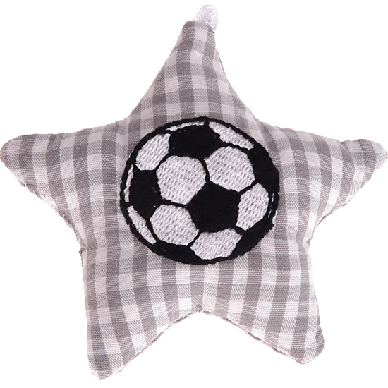 textile star grey football