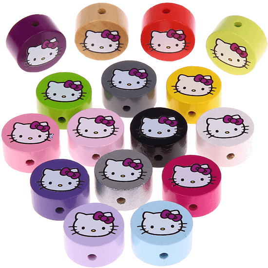 Pérolas com motivo – Hello Kitty