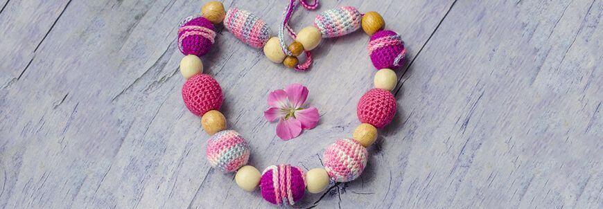 Las perlas de ganchillo